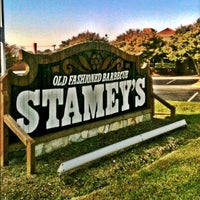 Photo taken at Stamey's Old Fashioned Barbecue by Greensboro, NC on 10/20/2012