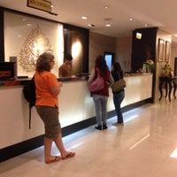 Photo taken at Amora Tapae Hotel Chiangmai by Nampunch on 10/31/2015