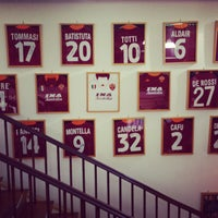 Photo taken at AS Roma Store by Павел К. on 3/11/2013