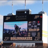 Photo taken at Ross-Ade Stadium by Chris W. on 11/24/2012