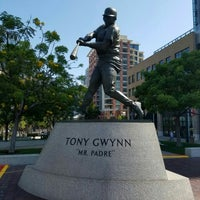 Photo taken at Tony Gwynn Statue by Bryan T. on 6/27/2016