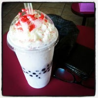 Photo taken at Freshh Donuts by A on 6/28/2013
