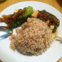 Photo taken at Happy Buddha Vegetarian Restaurant by Thao T. on 11/12/2012