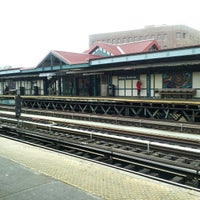 Photo taken at MTA Subway - Marcy Ave (J/M/Z) by Mike D. on 2/16/2013