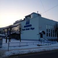 Photo taken at Bellevue Park Hotel Riga by Дмитрий К. on 1/12/2013