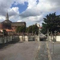Photo taken at Palazzo Borromeo by Alessandro C. on 9/18/2016