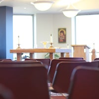 Photo taken at Benedictine University - Kindlon Hall of Learning by Benedictine University on 1/14/2013