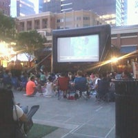 Photo taken at Atlantic Station Central Lawn by Robert J. on 6/28/2013