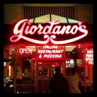 Photo taken at Giordano's by minty on 10/30/2012