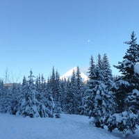 Photo taken at Cooper Spur by Peter K. on 1/5/2013
