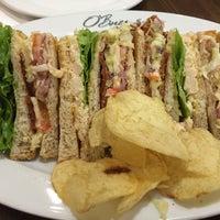 Photo taken at O'Briens Irish Sandwich Bar by Jayne on 3/19/2016