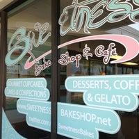 Photo taken at Sweetness Bake Shop & Cafe by Les B. on 4/2/2013