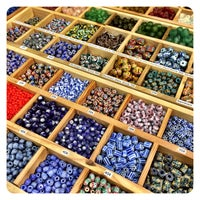 Photo taken at Bead World by Camille A. on 3/15/2015