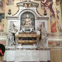 Photo taken at Basilica of Santa Croce by Valentina D. on 1/12/2013