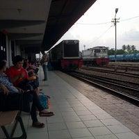 Photo taken at Stasiun Rantauprapat by Syauqi H. on 10/2/2012