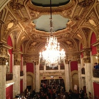 Photo taken at Boston Opera House by Elsa on 10/14/2012