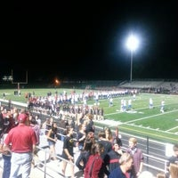 Photo taken at Boulder High School Stadium by Mary H. on 9/20/2014