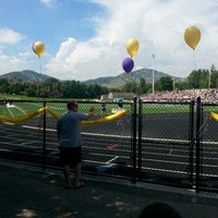 Photo taken at Boulder High School Stadium by Mary H. on 9/6/2014