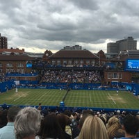 Photo taken at Queen's Club by Paul T. on 6/18/2016
