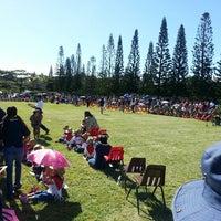 Photo taken at Mililani Mauka Elementary School by Derek T. on 5/3/2013