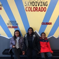 Photo taken at SkyVenture Colorado by Rahsaan T. on 5/11/2014