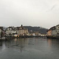 Photo taken at Rathaussteg by Gorken G. on 1/2/2016