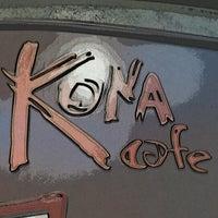 Photo taken at Kona Café by Greg on 9/30/2012