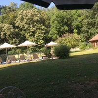 Photo taken at Chateau De Challanges by Justine D. on 7/14/2015