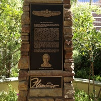 Photo taken at Bugsy Siegel Memorial by Katherine on 6/26/2013