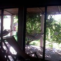 Photo taken at Resort Las Hojas El Salvador by Pamela J. on 1/12/2013