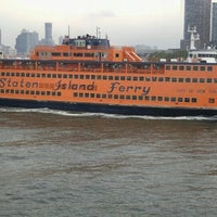 Photo taken at Staten Island Ferry Boat - John J. Marchi by Pina B. on 7/8/2016