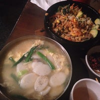 Photo taken at Mill Korean Restaurant by Yeein L. on 1/30/2014