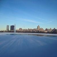 Photo taken at Central Park - Gothic Bridge by Yeein L. on 2/17/2014