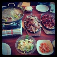 Photo taken at Hosoonyi Korean Restaurant by Ryan W. on 7/6/2013