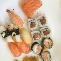 Photo taken at Wok Sushi by Janine G. on 12/7/2012