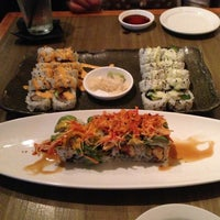 Photo taken at Dragonfly Sushi & Sake Co by Joshua B. on 12/9/2012