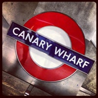 Photo taken at Canary Wharf by Marco T. on 5/30/2013