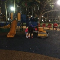Photo taken at Lake Eola Playground by Robert K. on 1/29/2013