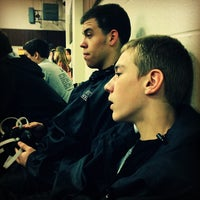 Photo taken at Olympic High School by Elizabeth B. on 12/8/2012