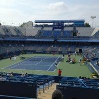 Photo taken at William H.G. Fitzgerald Tennis Stadium by Dean C. on 7/27/2013