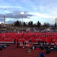 Photo taken at Roos Field by Myk C. on 12/1/2012