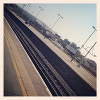 Photo taken at Fratton Railway Station (FTN) by Steve B. on 4/25/2013