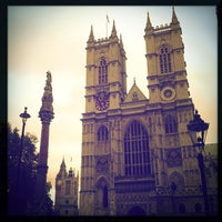 Photo taken at Westminster Abbey by Julia F. on 11/17/2012