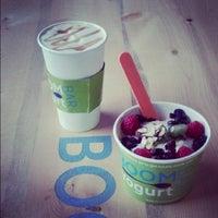 Photo taken at Boom Yogurt Bar by Colorado Card on 11/8/2012