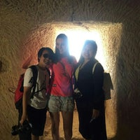 Photo taken at Shoestring Cave House by Tuğçe C. on 6/4/2016