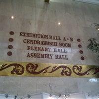 Photo taken at Jakarta Convention Center (JCC) by Aldi W. on 3/9/2013