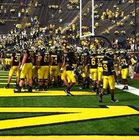 Photo taken at Michigan Stadium by Julie V. on 9/9/2011