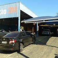Photo taken at Morumbi Garage - Centro de Estetica Automotiva by Douglas D. on 7/11/2013