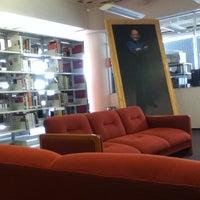 Photo taken at Biblioteca USBI by Alan L. on 11/28/2012