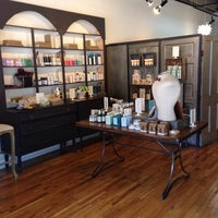 Photo taken at Philosophie Salon & Apothecary by Elle B. on 10/21/2014